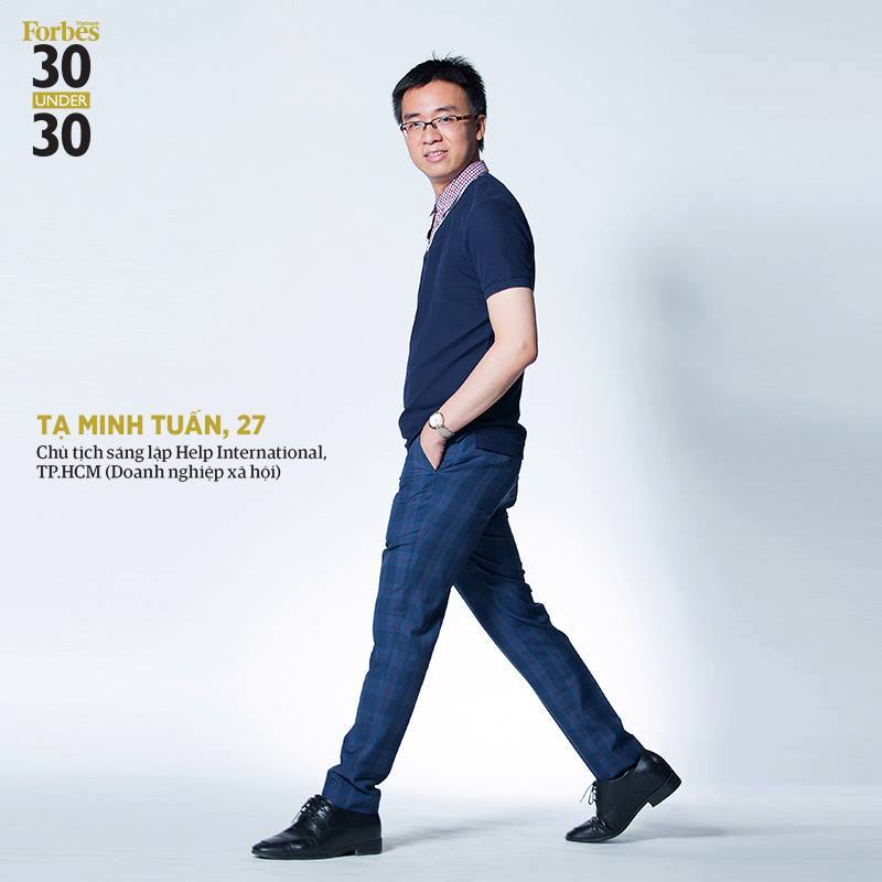 Tạ Minh Tuấn, Forbes Việt Nam 30 under 30