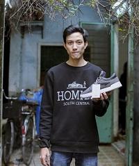 Khởi nghiệp với sản phẩm giày made in Việt Nam 100%