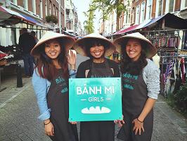 """Cô gái Việt đưa bánh mì """"hương vị nước mắm"""" gây sốt tại Hà Lan"""