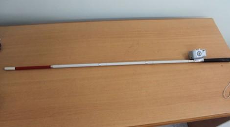 9X Sài Gòn sáng chế gậy thông minh giúp người khiếm thị