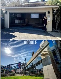 Những đế chế công nghệ bắt đầu khởi nghiệp từ garage