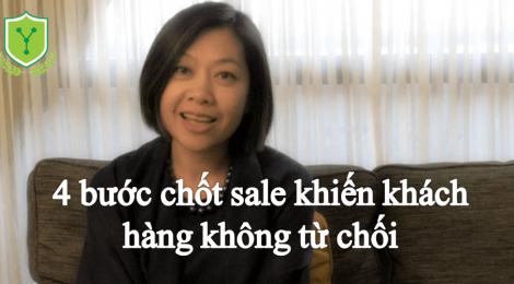 4 bước chốt sale khiến khách hàng khó từ chối