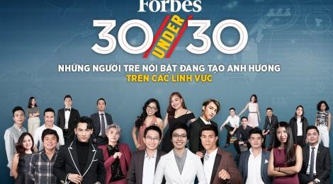 8 gương mặt trẻ nổi bật của start-up Việt được vinh danh trong danh sách 30 under 30 Việt Nam 2018