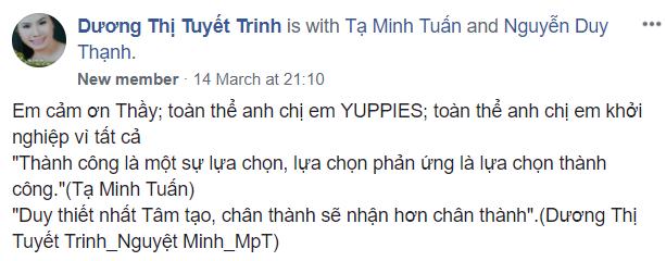 Dương Thị Tuyết Trinh.