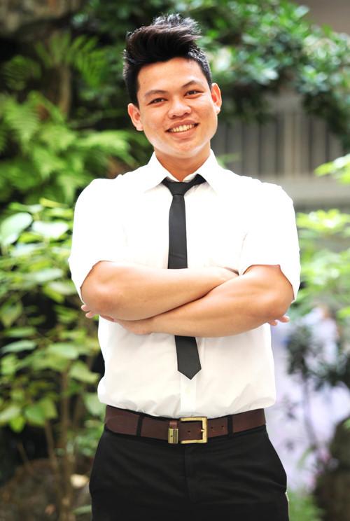 Hồ Đức Hải - cựu sinh viên K36 khoa Quản trị kinh doanh, ĐH Kinh tế TP HCM