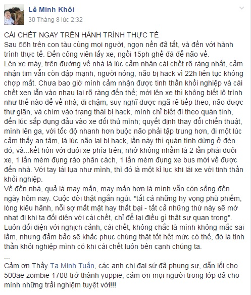 LE MINH KHOI