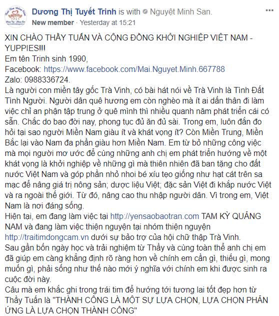 Dương Thị Tuyết Trinh