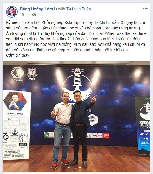 Đặng Hoàng Lâm - CEO Trung tâm S-Talk English