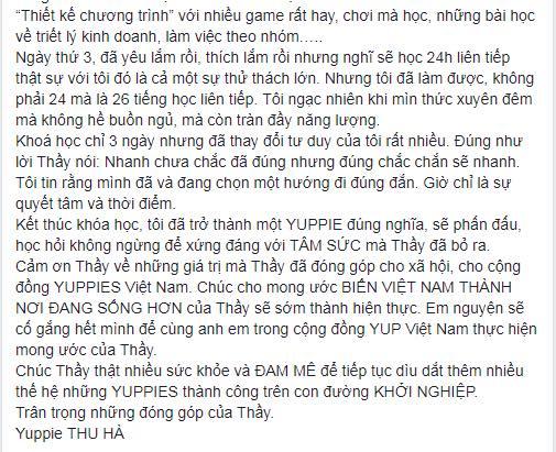 Phạm Thu Hà (tiếp theo)