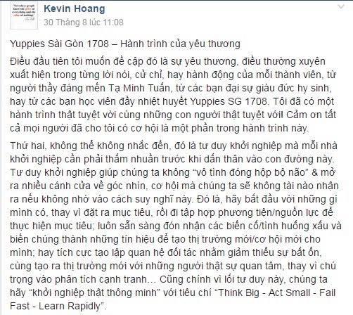 Kevin Hoàng